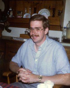 David Waldmann in the 1980's