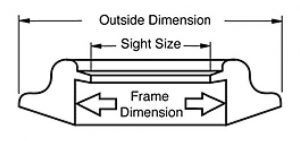 Picture Frame Terminology - Diagram 1