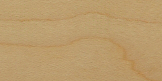 Maple Face Grain with Clear Lacquer (L) Finish