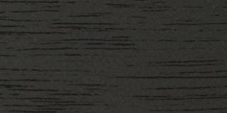 Walnut Edge Grain with Satin Black (K) Finish